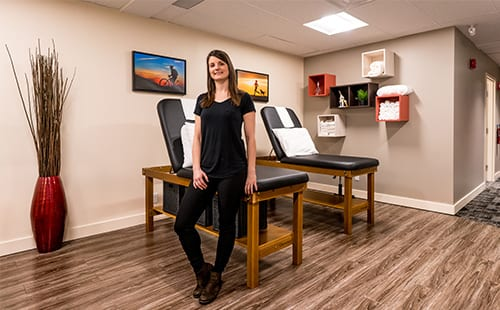 Moveo Physiotherapy in Orleans, Ottawa Ontario. Our Treatment Room