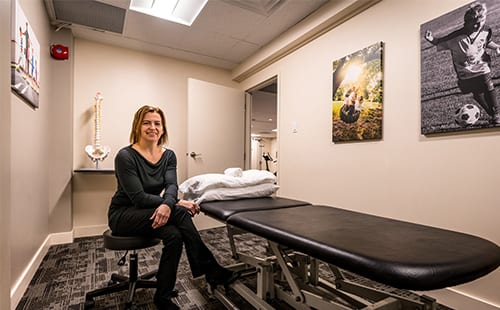 Moveo Physiotherapy - Orleans, Ottawa. Treatment Room